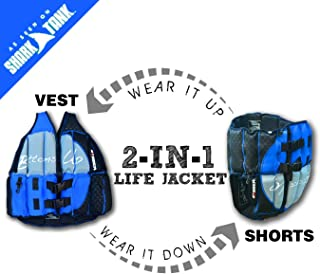 Human Bobber Bottoms Up Life Jacket – Human Life Vest – Saddle Flotation Device – Swim Life Jacket for Adults or Children - Coast Guard Approved for Pool or Boat - AS SEEN ON Shark Tank