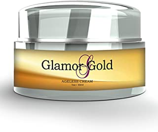Best Glamor Gold Ageless Cream- Anti-Aging Skincare for Fine Lines and Wrinkles - Collagen Production Review