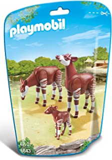 Playmobil 6643 Okapi Family - Multi Color