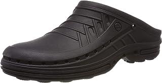 WOCK 中性款成人洞鞋 黑色/黑色 UK