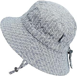 Jan & Jul Baby Toddler Children Breathable Cotton Bucket Hat UV Protection 50 Good Fit Drawstring Adjustable