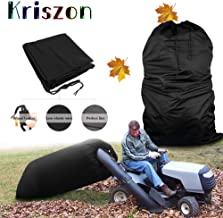 Kriszon Tractor Leaf Bag,Lawn Tractors Leaf Bag,Bag with Chute Kit,Durable Yard Waste Bag Made to Avoid Tearing from Surface Drag - Suitable for All Lawn Tractors