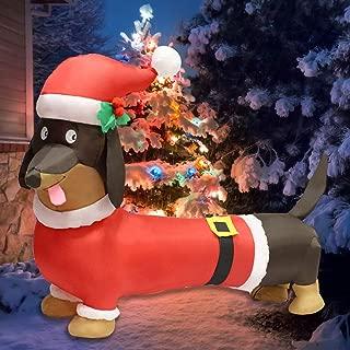 Best weiner dog outdoor christmas decoration Reviews