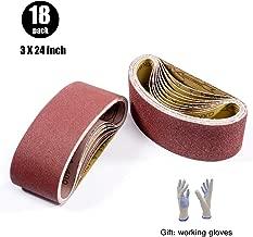 Best 3x24 sanding belt Reviews