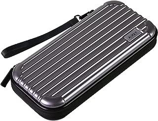 AUKEY [Nintendo Switch対応] Nintendo Switch ケース 保護カバー スリムハードポーチ 収納バッグ ハンドストラップ付 耐衝撃 固定バンド (二年間の保証付き) PC-A1