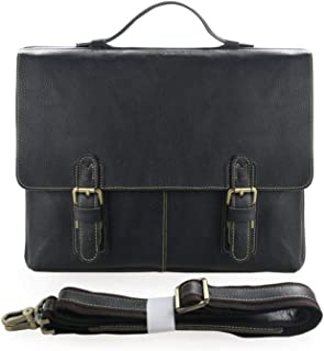 The Johnson Briefcase - Genuine Leather - up to 15