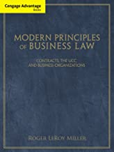Business Law CourseMate (with eBook) for Miller's Cengage Advantage Books: Modern Principles of Business Law, 1st Edition