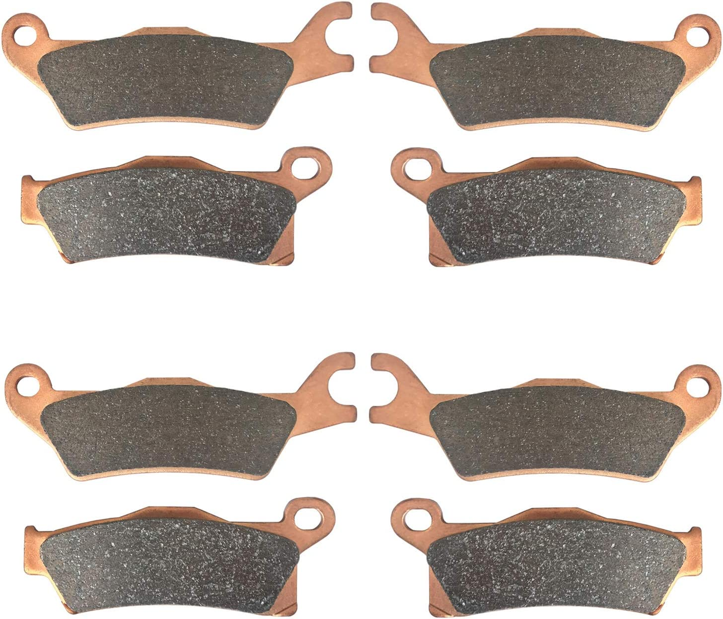 Zinger FrontRear Brake Pads for Can-Am Sacramento Mall Nashville-Davidson Mall 570 Renegade XMR 500 STD