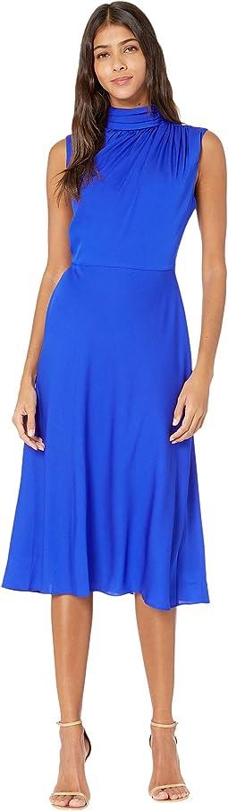 Finlee Mock Neck Midi Dress