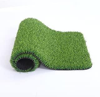 MAYSHINE Artificial Grass Door Mat Indoor/Outdoor Rug Green Turf Perfect for Multi-Purpose Home Entryway Scraper Doormat Dog Mats 18x29 Inches