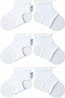 /Lot de 3/* * * * * * 6/mois/ 1/x Blanc, 1/x Fuchsia et 1/x rose b/éb/é Sock Ons/ /0 trois Sock Ons Chaussette de b/éb/é Keepers: Incroyable Rapport Qualit/é//pr