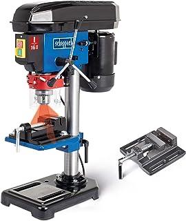 Scheppach DP16VLS bordsborr 500 W 600–2600 min-1, 250 mm max. avstånd, laser