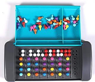 マスターマインド ゲーム/子供のための暗号解読ゲーム/カラーボードモンテッソーリ首謀者コード解読/家族の子供のためのミニボードゲーム