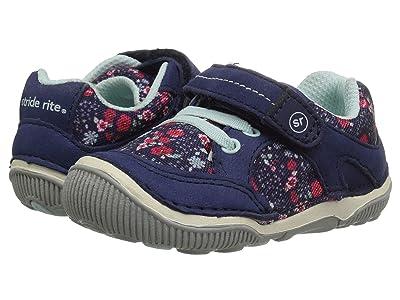 Stride Rite SRT Rosie (Toddler) (Navy) Girls Shoes