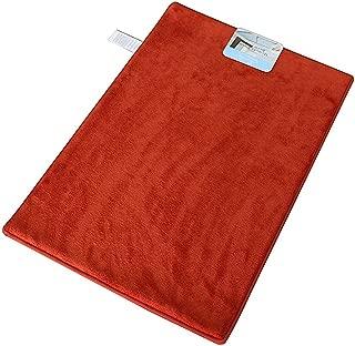 Garden Home Luxury Memory Foam Bath Rug (2 Pack 16x22, Blood Orange)