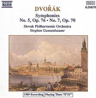Dvorak: Symphonies Nos. 5 And 7