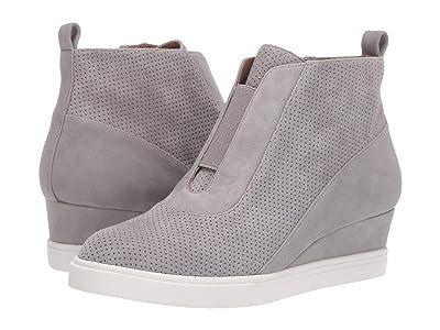 LINEA Paolo Anna Wedge Sneaker (Rock Perf Suede) Women