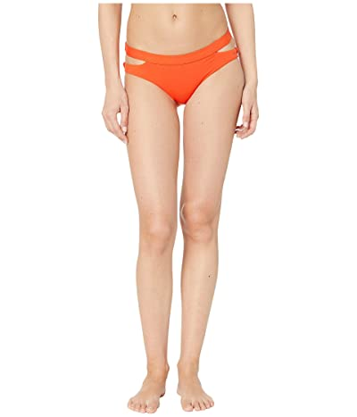 Seafolly Fastlane Active Split Band Hipster Bottoms (Tangelo) Women