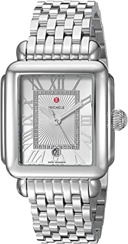 Michele Deco Madison Diamond Dial Watch