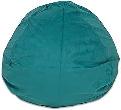 كرسي بين باج من إسفنج ميموري عالي الجودة للأطفال من بيديتيكس - أكياس بطول 91.44 سم مع غطاء قابل للإزالة والغسل