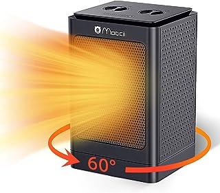 Moocii Calefactor Eléctrico PTC Calefactor de Aire Caliente con Ahorro de energía de Alta Tecnología y Oscilación Automáti...