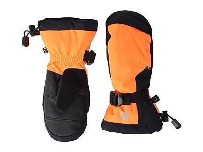 Spyder Kids Finn (Little Kids/Big Kids) (Bryte Orange) Extreme Cold Weather Gloves