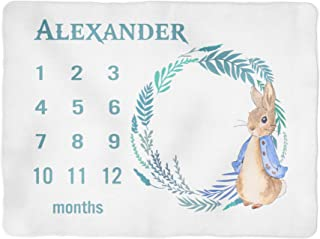 peter rabbit fleece blanket