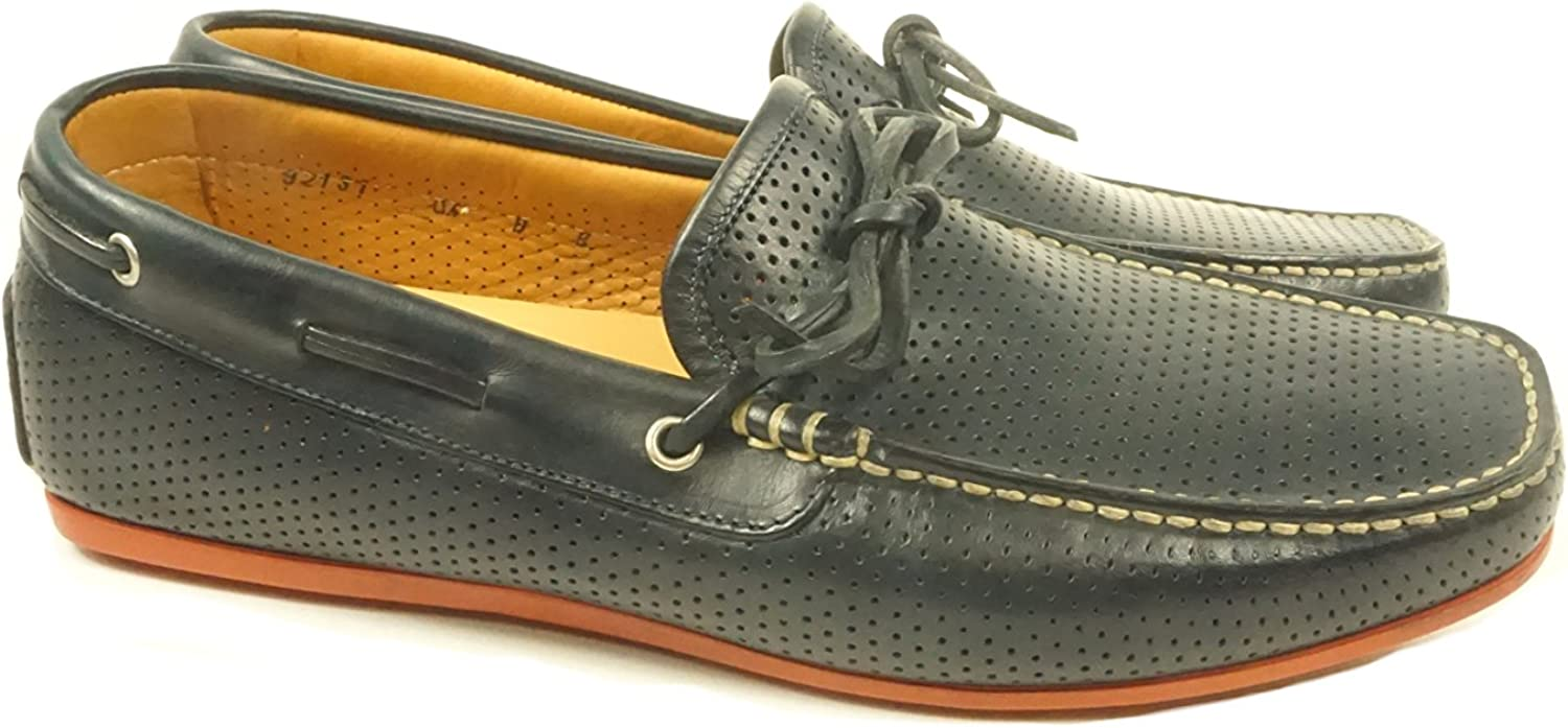 Santoni Men's Toft-6 Casual shoes Navy