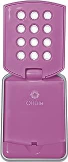 OttLite 49021B LED Mini Flip Lite, Pink Color