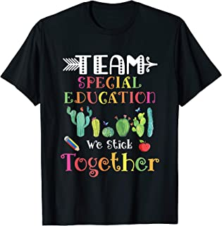 special education team shirts