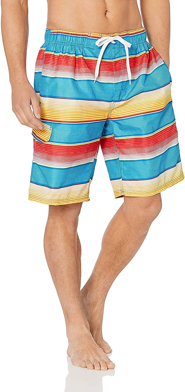 Kanu Surf Men's Seaside Swim Trunks (Regular & Extended Sizes) |