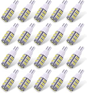 Best YITAMOTOR 921 912 RV Interior LED Light Bulbs, T10 194 LED Camper Light Replacement Bulbs for RV Car Dome Map Door License Plate Trailer Backup Reverse Lights, White 42-SMD Super Bright, 20-Pack Review