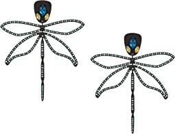 Tory Burch Embellished Dragonfly Earrings