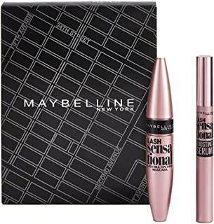 Maybelline Lash Sensational Routine Set, wimperverf en serum van wimperkit