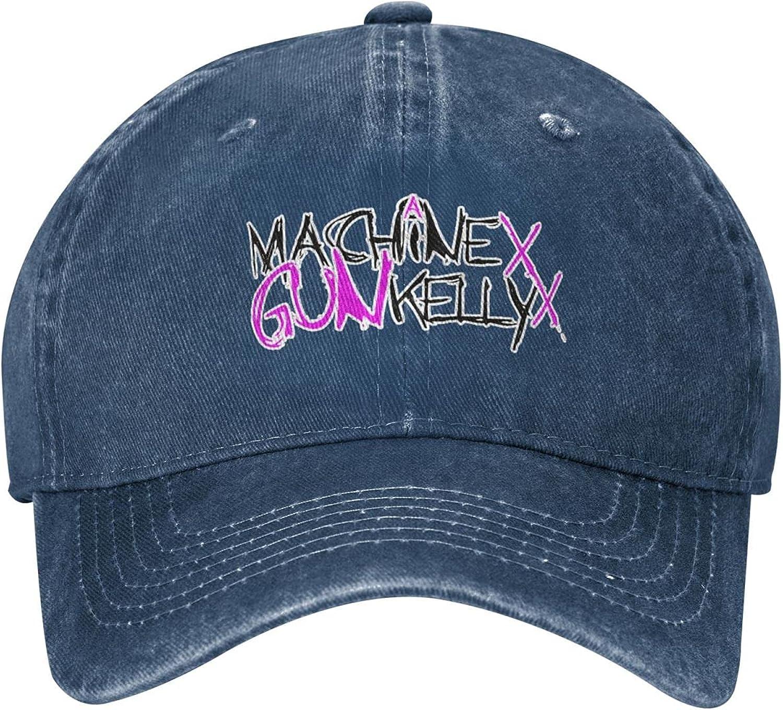Guncore M-achin-e G-un K-Elly M-G-K Cowboy Cap Original Fashion Retro Dad Baseball Hat Outdoor Travel(Unisex)