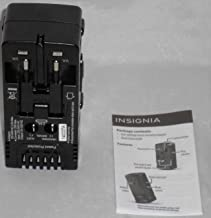 Insignia Travel Adapter Converter Four Common International Plugs NS-TADPCON