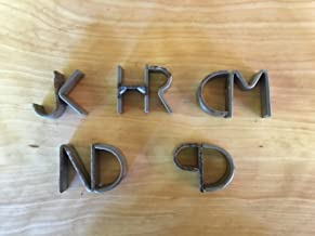 Miniature Branding Iron with Combined Letters by Sloan Brands