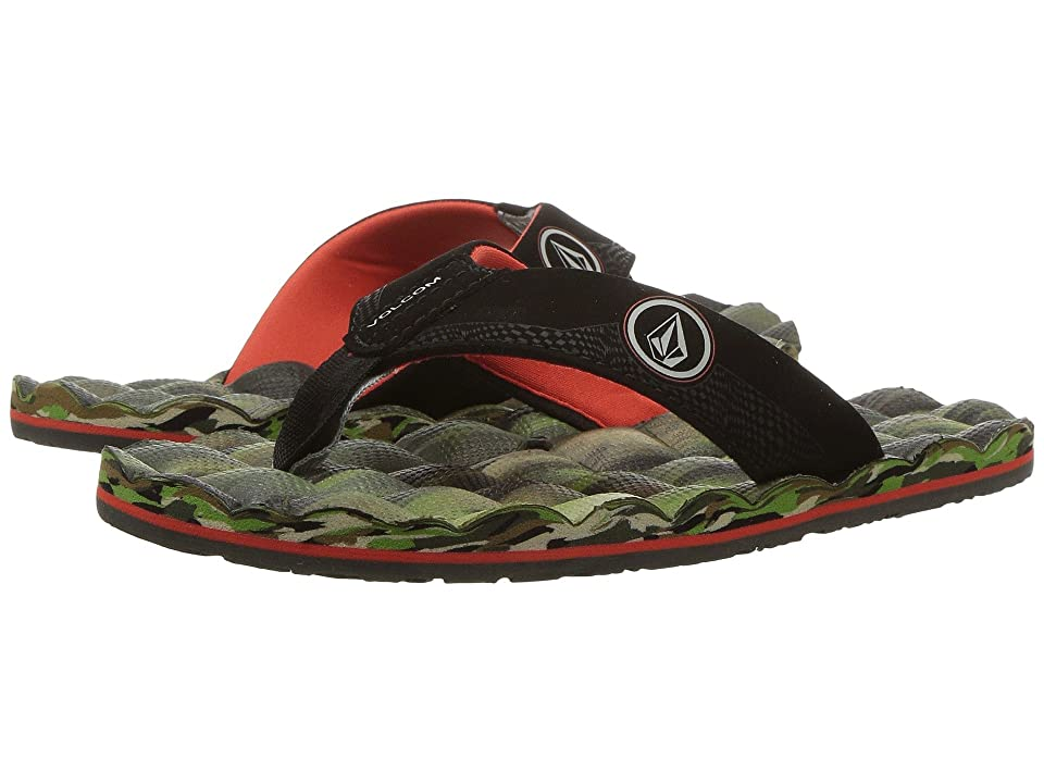 Volcom Kids Recliner (Little Kid/Big Kid) (Camouflage) Boys Shoes