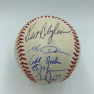 bert blyleven autographed baseball