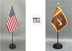 Made in The USA. 1 American and 1 International Country Rayon 4
