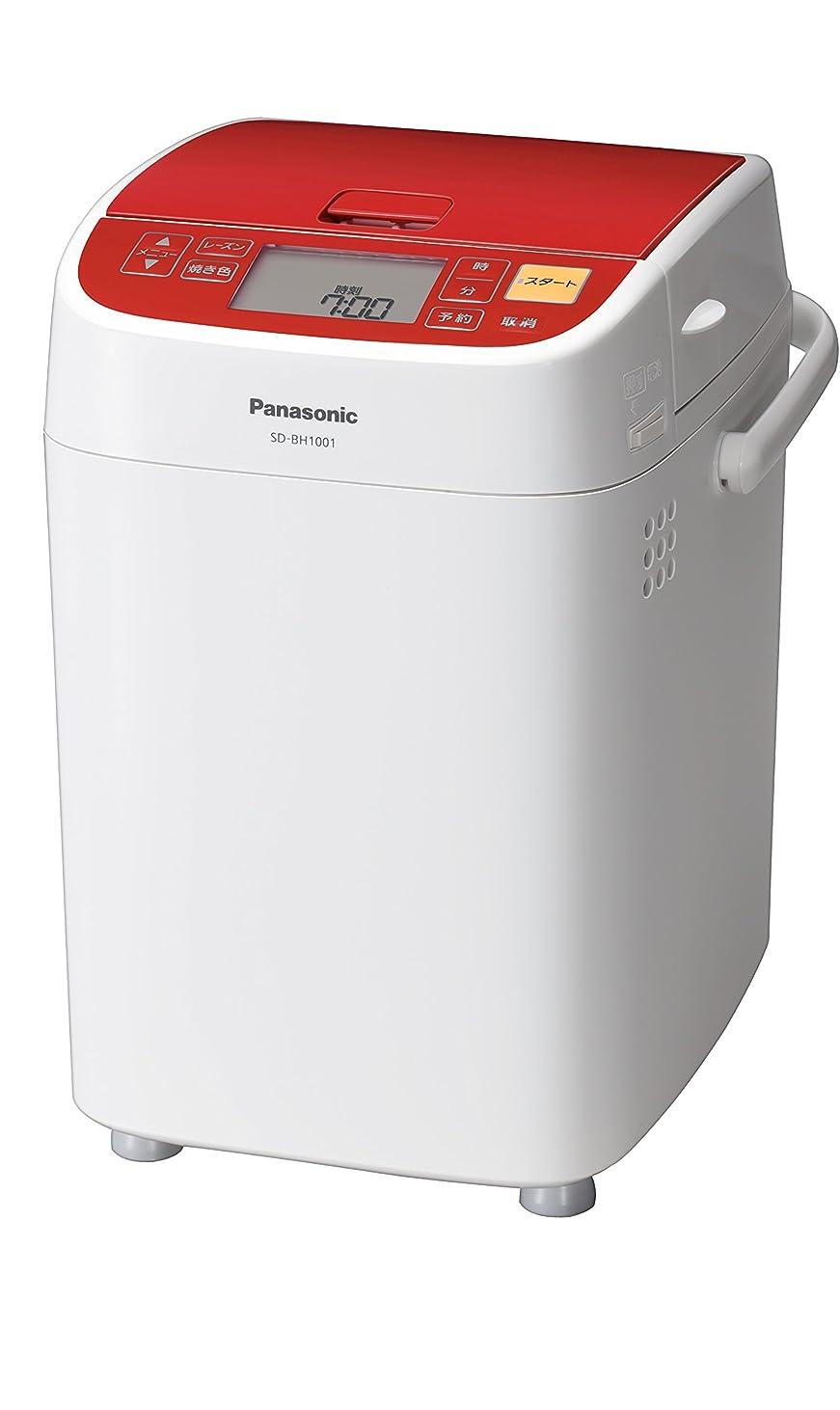 必要宣言する記念日パナソニック ホームベーカリー 1斤タイプ レッド SD-BH1001-R