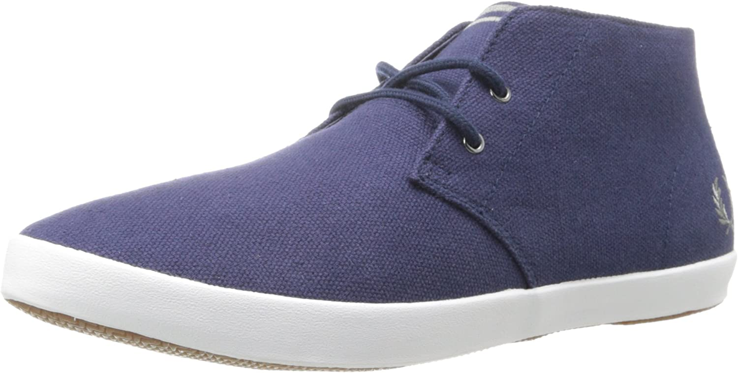 Fred Perry Men's Byron Mid Heavy Canvas Chukka Boot