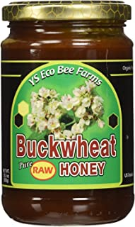 YS Eco Bee Farms Buckwheat Pure Raw Honey -- 13.5 fl oz