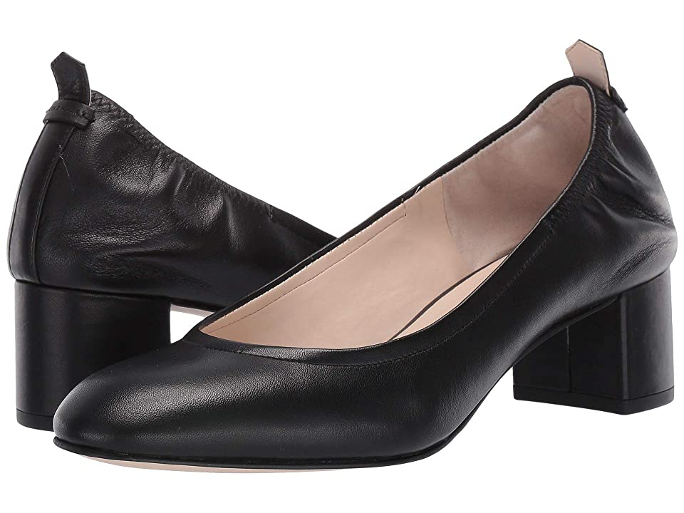 Cole Haan 50 mm Aviana Pump (Black Leather) Women