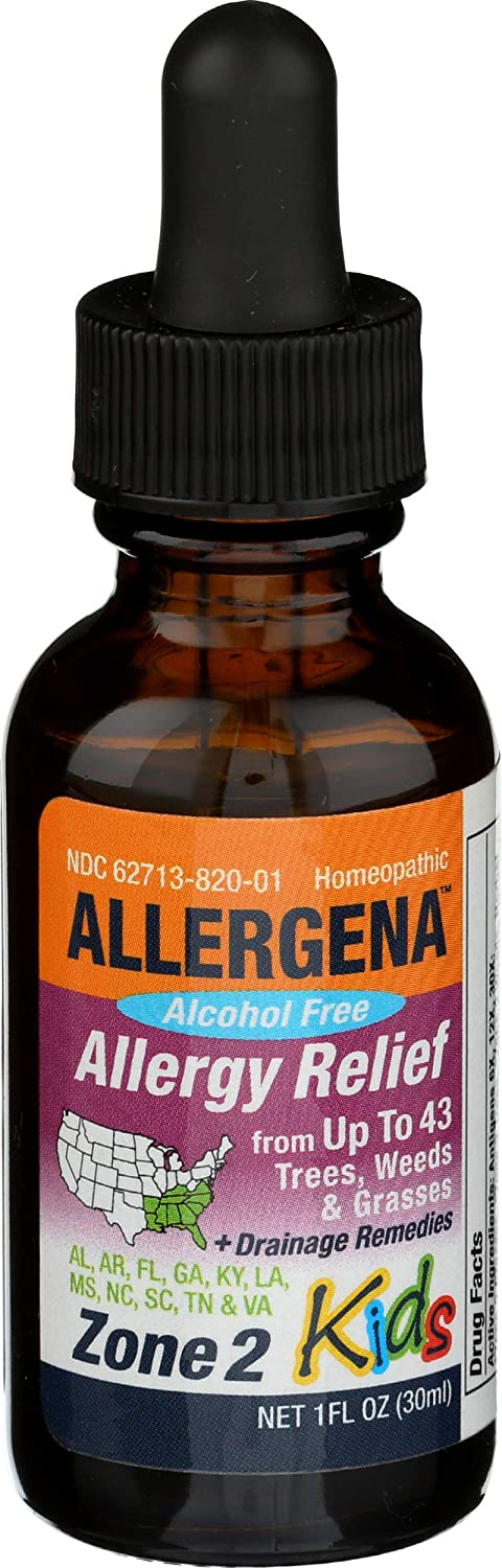 Allergena - Allergy Relief Drops Zone 2 oz. Kids Free Max 85% OFF shipping 1 for