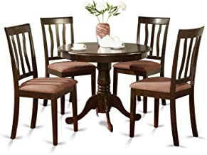 ANTI5-CAP-C 5 Pc Kitchen Table set-Kitchen Table and 4 Dining Chairs