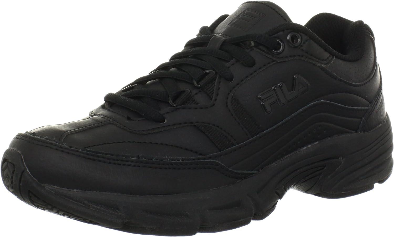 Fila Women's Memory Workshift Cross-Training Shoe,Black/Black/Bl
