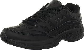 Fila Women's Memory Workshift Cross-Training Shoe,Black/Black/Black,9.5 M US