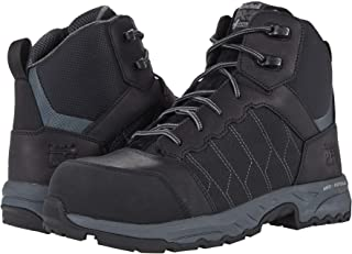Timberland PRO Men's Payload 6 Inch Composite Safety Toe Industrial Work Boot, Black, 7