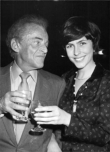Vintage foto de Alan Jay Lerner con su novia Liz Robertson. : Amazon.es: Hogar y cocina